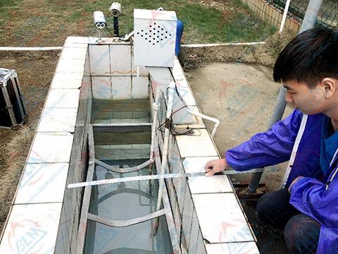 污水流量计校准图片