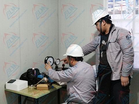 建材仪器检定图片